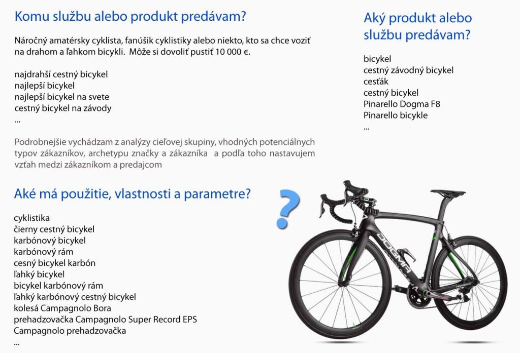 Ako určiť vlastnosti produktu - Pinarello Dogma F8